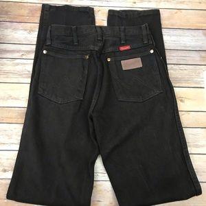 Wrangler Jeans, 14MWZKL, size 5x34. Brown.  Z10